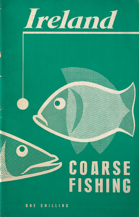sixties fishing guides hitone vintage irish book covers